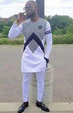 Lovely Nigerian native wears for men Latest African Men Fashion, African Wear Styles For Men, African Shirts For Men, Nigerian Men Fashion, African Attire For Men, African Clothing For Men, African Print Fashion, Mens Fashion, Couples African Outfits