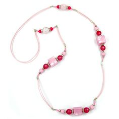 Kette, Würfel, rosa-seide, silber 100cm Dreambase http://www.amazon.de/dp/B00H2IGLVK/?m=A37R2BYHN7XPNV