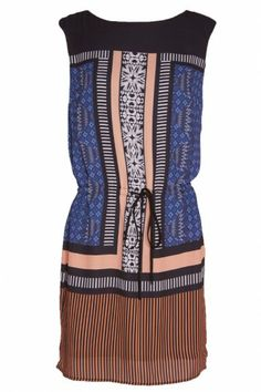 We adore the fun prints and patterns on this dress! Such a perfect piece to throw on for instant style. $124 www.bevello.com