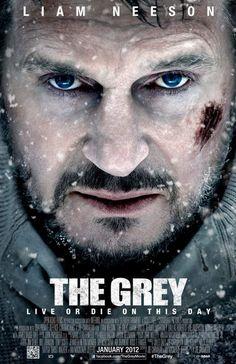"""即刻獵殺 The Grey (應該改名叫""""雪地上有狼"""",沒什麼內容的一部電影)"""
