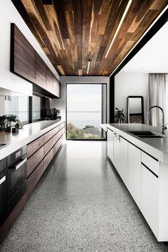 Une maison d'architecte australienne avec vue sur la plage - PLANETE DECO a homes world
