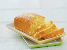 A tweaked, lighter version of the classic pound cake.