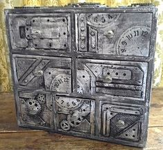 Steampunk, mini drawer chest