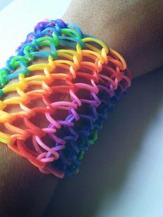 Rainbow Loom - Dragon scale
