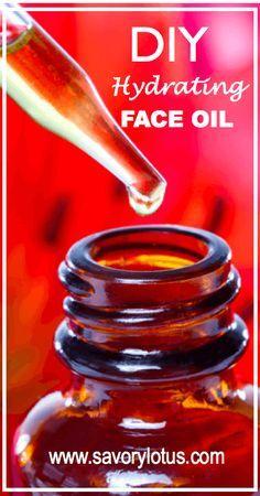 DIY Hydrating Face Oil