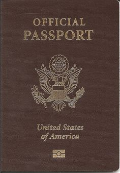united state of america 1920's passport