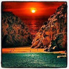 Sunset - Cabo San Lucas Beach, Mexico by Joao.Almeida.d.Eca