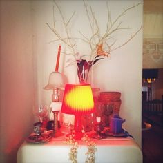 #design #lamp #photography #sacha mendes #red #yellow #arrangement