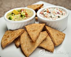 An+easy+and+quick+diabetic+recipe+for+baked+pita+chips.++Recipe+takes+just+10+minutes,+and+DiabeticLifestyle+includes+all+nutritional+(including+carb+counts)+and+diabetic+exchange+information+to+help+people+with+type+1+diabetes+or+type+2+diabetes+live+well+and+eat+well.+Visit+us+for+other+diabetic+snack+recipes.