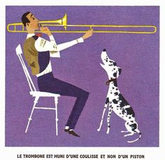 Taken from Les Instruments de Musique (Les Deux Coqs d'Or edition), 1964 Artwork by Alice and Martin Provensen