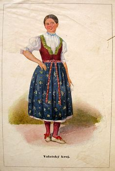 Category:National costumes of the Czech Republic Folk Clothing, Medieval Clothing, Folk Costume, Costumes, Contemporary Decorative Art, Naive Art, Black Forest, Czech Republic, Traditional Outfits