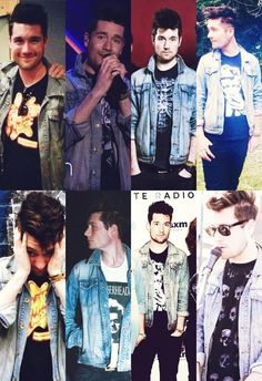 The jacket...the magic jacket....I want that jacket but I wouldn't mind dan in my closet either hahaha