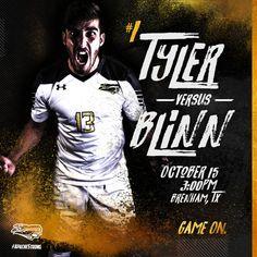Tyler Junior College Men's Soccer – cates.design Junior College, Soccer, Fictional Characters, Design, Futbol, European Football, European Soccer, Football