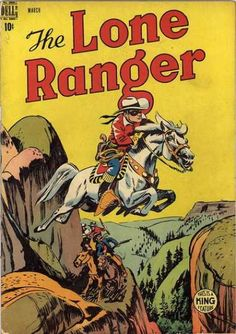 The Lone Ranger 9 Dell Golden Age Comic