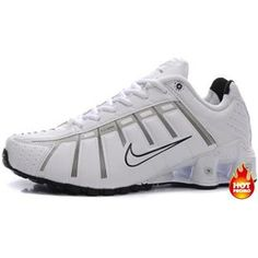 premium selection e87f0 9af64 Mens Nike Shox NZ 3 OLeven White Grey Black I Nike Shox Nz, Mens Nike