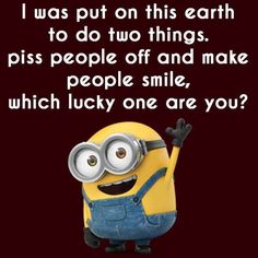 Latest Minions Funny Quotes on Funny Meme Quotes, Funny Minion Memes, Minions Quotes, Funny Sayings, Minion Birthday Quotes, Minions Minions, Minion Humor, Humor Quotes, Funny Cartoons