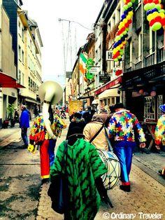 Karneval in Dusseldorf, Germany