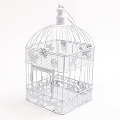 Large White Square Wedding Bird Cage (Large) By Wedding Direct TM Macallen http://www.amazon.co.uk/dp/B008M6XP56/ref=cm_sw_r_pi_dp_ocYOvb1SCRWHA