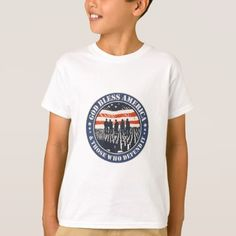God Bless America T-Shirt - veterans day us patriot holiday usa vets