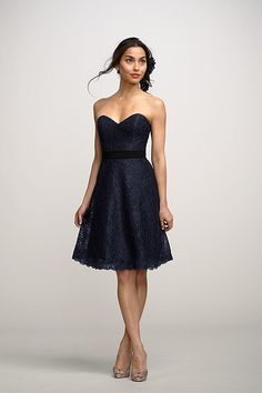 Fully customizable dress.....choose lace color, lining, and ribbon! Also available in floor length and other styles