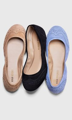 Not a huge fan of flats but I would so rock these