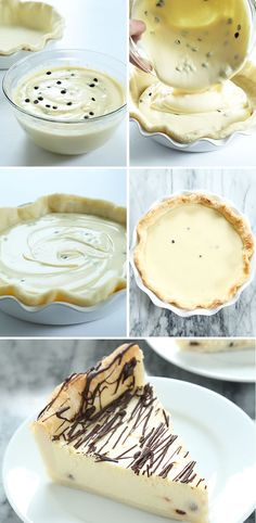 Super Easy Gluten Free Cannoli Pie — can I get an amen? Gluten free cannoli pie has all the taste of cannoli in a super easy smooth and creamy pie. Make it with a pastry crust or cookie crust! Gluten Free Cheesecake, Gluten Free Pie, Gluten Free Sweets, Gluten Free Cakes, Gluten Free Baking, Sans Gluten, Gluten Free Recipes, Gluten Free Deserts Easy, Gluten Free Thanksgiving