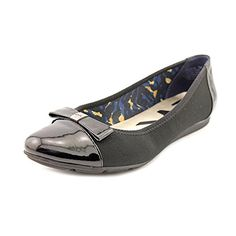 Anne Klein Sport Atalya Canvas Flats Black MU Size 90 ** Learn more by visiting the image link. Note:It is Affiliate Link to Amazon.