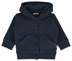 Loose fit IMPS & ELFS capuchon vest voor jongens. Een echte musthave voor in de winter, die in de zomer makkelijk door te dragen is als jasje. ...