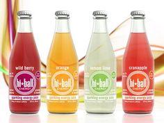 Hi-Ball Energy Juice (group of four)
