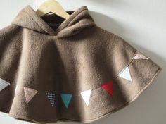 Dear Etsy:  I want a super-adorable fleece poncho...