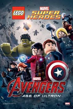 Age of Ultron' Gets Lego Makeover (Exclusive) The 'Avengers: Age of Ultron' poster got a makeover from Lego.The 'Avengers: Age of Ultron' poster got a makeover from Lego. Ultron Marvel, Age Of Ultron, Lego Marvel's Avengers, Lego Age, Avengers Age, Lego Marvel Super Heroes, Poster Marvel, Lego Film, Lego Movie