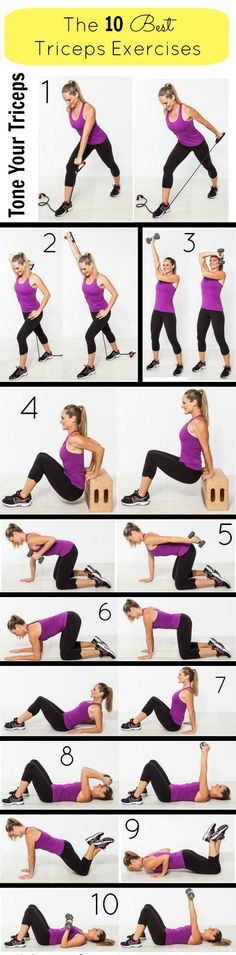 Tricep exercises | Posted By: AdvancedWeightLossTips.com
