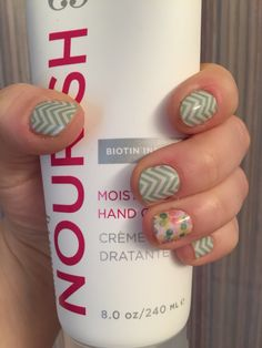 Jamberry mint green chevron and out of focus