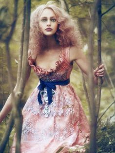 Sasha Pivovarova by Paolo Roversi for Vogue Italia 2007