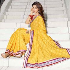 Yellow Sari by Lootvila