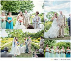Eolia Mansion Wedding Ceremony At Harkness State Park