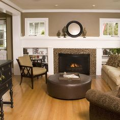 Devine Roast On The Walls Perfect Neutral Brown Hue Traditional Living Room By