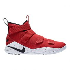 32532a074ed5 Nike Men s LeBron Soldier XI Basketball Shoes - Red