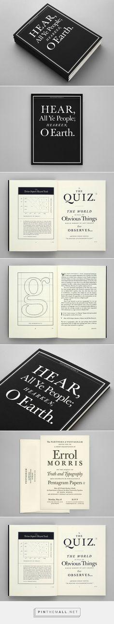 Pentagram Papers 44 by Errol Morris