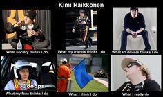 Kimi Raikkonen meme! (don't take it personal Kimi fans - I love this guy too) #thatoverusedkimijoke #f1