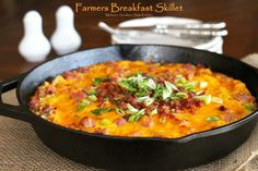 This Farmers Breakfast Skillet is a fantastic hearty and filling way to start any day.