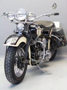 Harley Davidson 1942 WL 750 cc