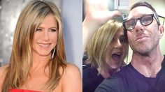 The new Rachel? Aniston put up a selfie (with her hairstylist, of course) of her chin length style.