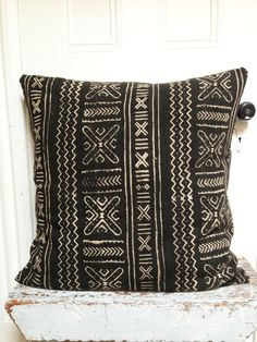 BOGOLAN Mud Cloth/ African Mudcloth Pillow Covers various by OSxN