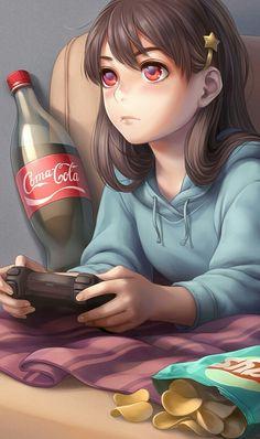 e-shuushuu kawaii and moe anime image board Fille Anime Cool, Art Anime Fille, Cool Anime Girl, Beautiful Anime Girl, Anime Art Girl, Anime Girls, Manga Girl, Chica Anime Manga, Anime Chibi