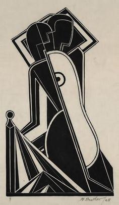 Henry-Butler-art-deco-female-figures