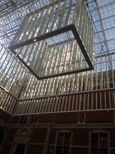 Zicht vanaf de koffie hal Rijksmuseum Tower, Building, Travel, Kunst, Rook, Viajes, Computer Case, Buildings, Destinations