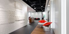 feature wall office - Google Search