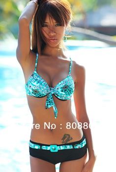 f9f4bb7bf31aa Drop ship discount Bikini push up bathing suit tops swimming suit Removable  padding swimwear-in Bikinis Set from Apparel   Accessories on Al.