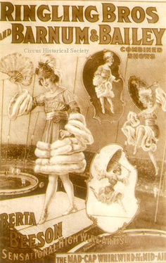 Ringling Bros.,Barnum & Bailey Circus Poster